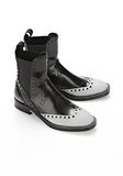 ALEXANDER WANG NICOLE BROGUE BOOT BOOTS Adult 8_n_r
