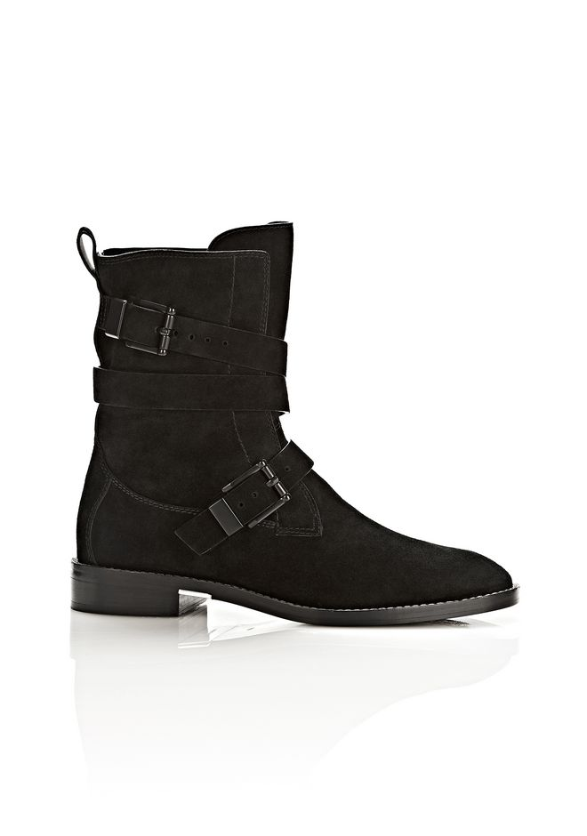 ALEXANDER WANG LOUISE SUEDE BOOT BOOTS Adult 12_n_f