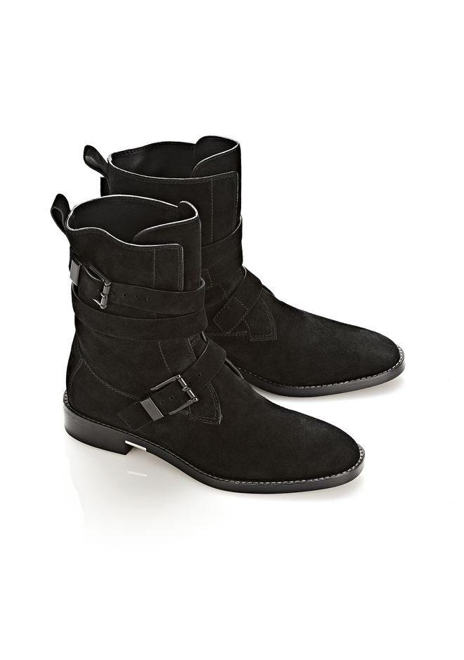 ALEXANDER WANG LOUISE SUEDE BOOT BOOTS Adult 12_n_r