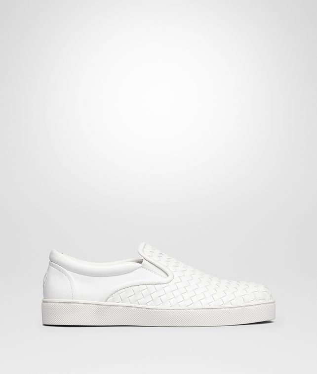 BOTTEGA VENETA SNEAKER DODGER IN INTRECCIATO NAPPA BIANCO Sneakers [*** pickupInStoreShippingNotGuaranteed_info ***] fp
