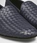 BOTTEGA VENETA FIANDRA SLIPPER IN DARK NAVY INTRECCIATO CALF Mocassin or Slipper U ap