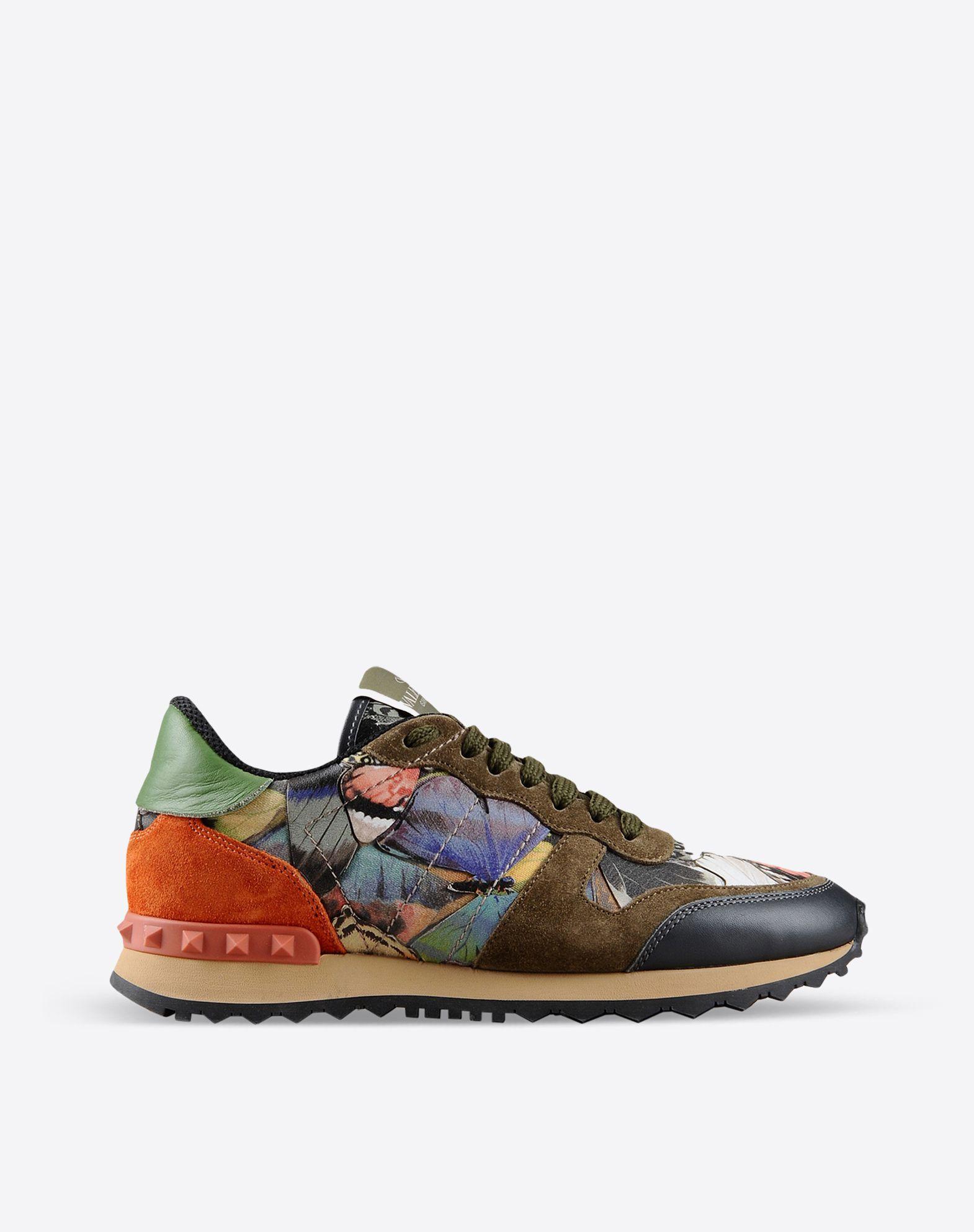 Buy Popular Womens Valentino Garavani 'rockrunner' Camouflage Sneakers  Online Shop