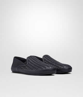 OUTDOOR SLIPPER IN TOURMALINE INTRECCIATO NAPPA
