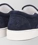 BOTTEGA VENETA DODGER SNEAKER IN DARK NAVY INTRECCIATO SUEDE Sneaker or Sandal U ap