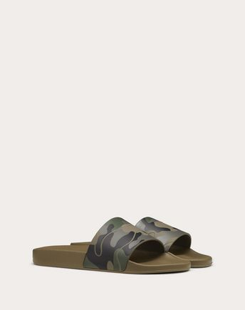 VALENTINO GARAVANI UOMO LOW-TOP SNEAKERS U Camouflage Bounce trainer r