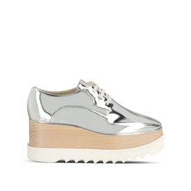 STELLA McCARTNEY Wedges D Silver Elyse Shoes f