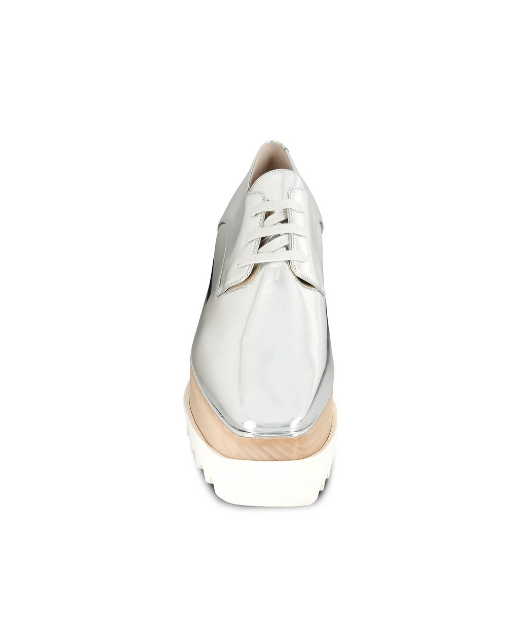 Silver Elyse Shoes - STELLA MCCARTNEY