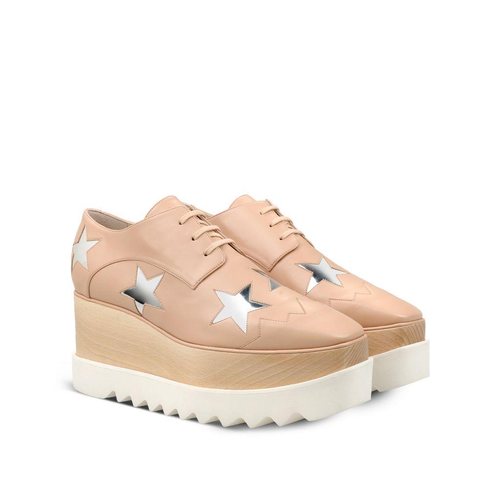 Elyse Powder Rose Star Shoes - STELLA MCCARTNEY
