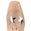 STELLA McCARTNEY Elyse Powder Rose Star Shoes Wedges D a