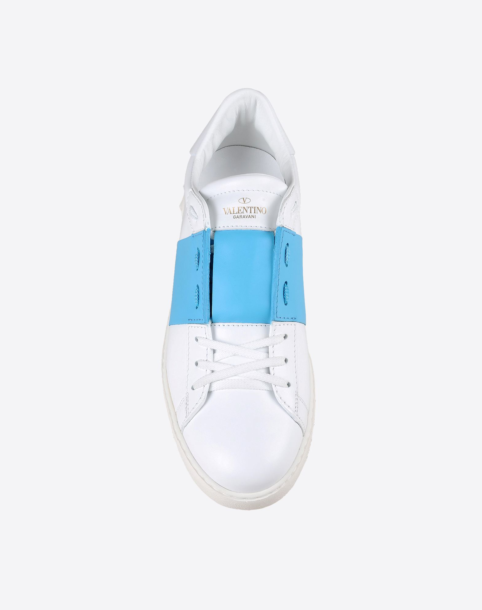 VALENTINO Logo detail Laces Rubber sole Round toeline  44797747ml