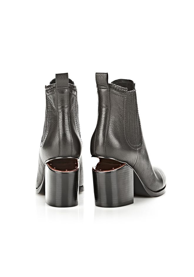 ALEXANDER WANG GABRIELLA  BOOTIE WITH ROSE GOLD  BOOTS Adult 12_n_e