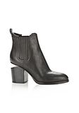 ALEXANDER WANG GABRIELLA  BOOTIE WITH ROSE GOLD  BOOTS Adult 8_n_f