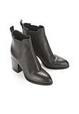 ALEXANDER WANG GABRIELLA  BOOTIE WITH ROSE GOLD  BOOTS Adult 8_n_r
