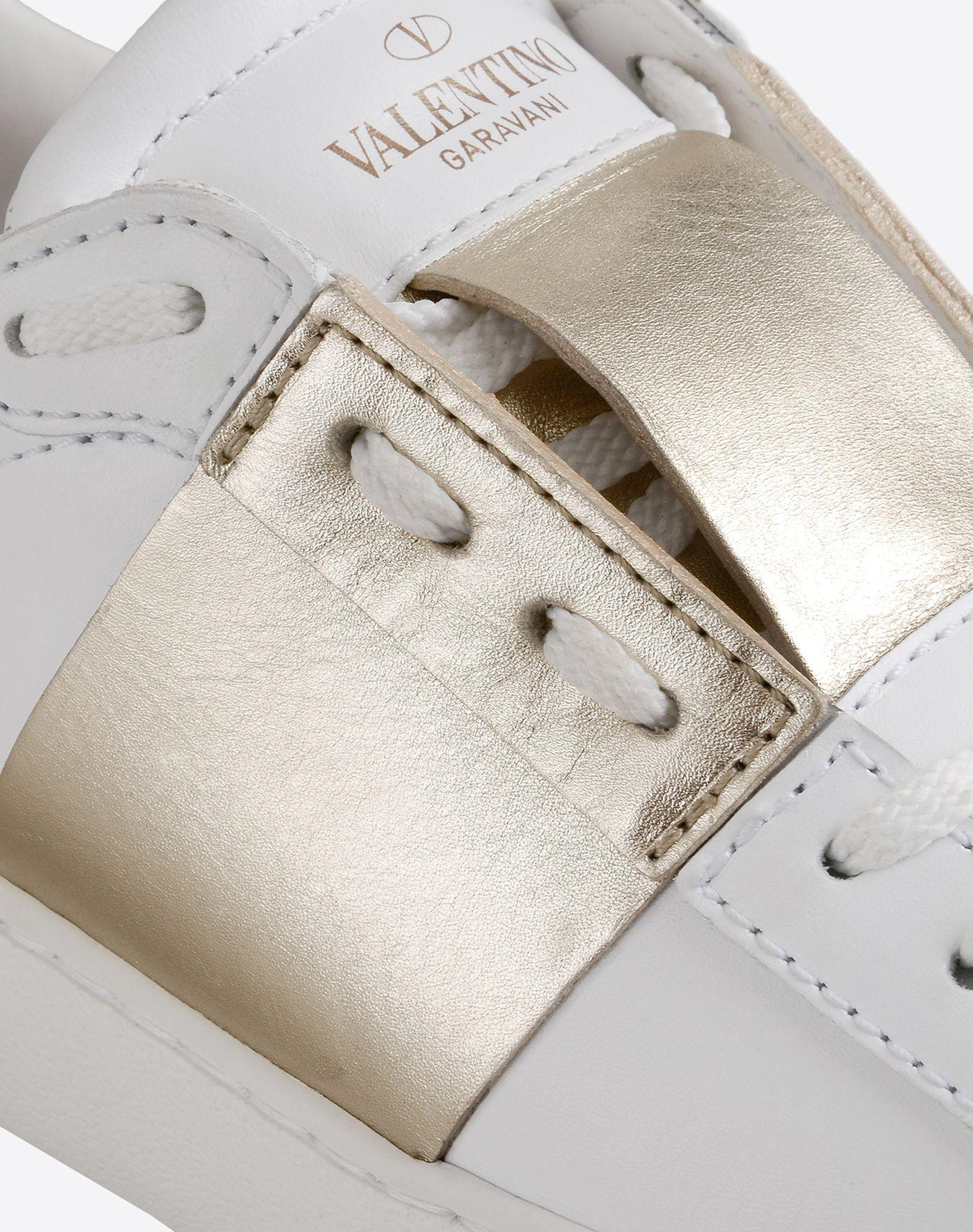 VALENTINO Logotipo Cierre con cordones Suela de goma Puntera redonda  44816604na