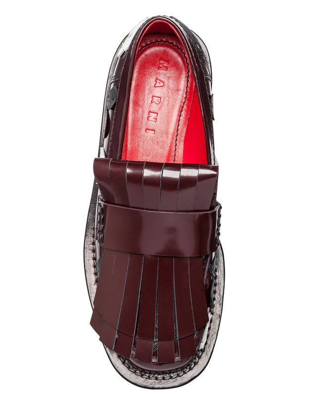cf63009629cbd Loafer In Calfskin Leather Flowers from the Marni Fall/Winter 2019 ...