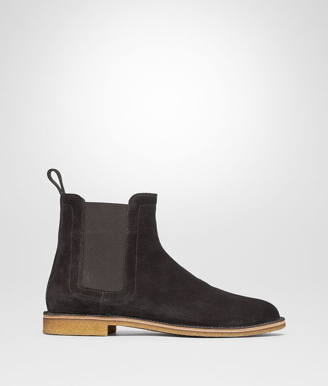 BOTTEGA VENETA VOORTREKKING BOOT IN ESPRESSO SUEDE Boots and ankle boots Man fp