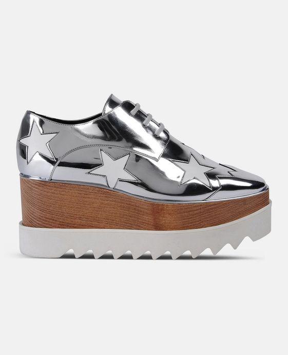 STELLA McCARTNEY Indium Elyse Star Shoes Wedges D c