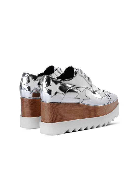 STELLA McCARTNEY Indium Elyse Star Shoes Wedges D i