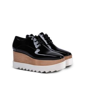 Black Patent Elyse Shoes