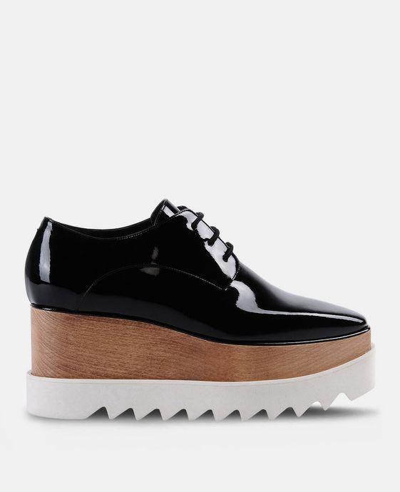 Chaussures Elyse noires vernies