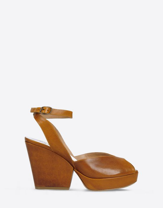 Maison Margiela Leather Wedge Sandals best sale cheap price latest sale professional 2KDWvm02