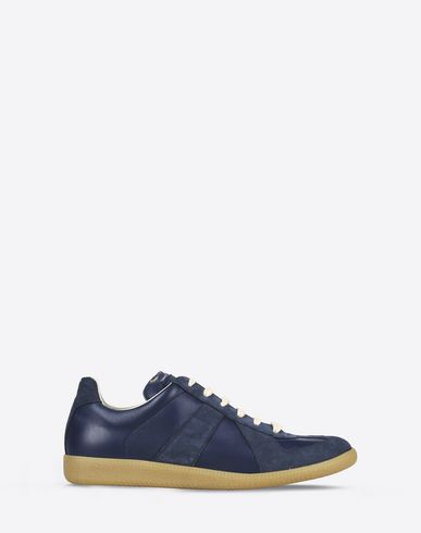 MAISON MARGIELA 22 Sneakers U 'Replica' sneakers in calfskin and suede f