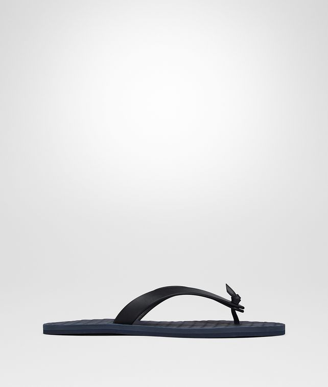 BOTTEGA VENETA SANDALS IN DARK NAVY CALF Sneaker or Sandal Man fp