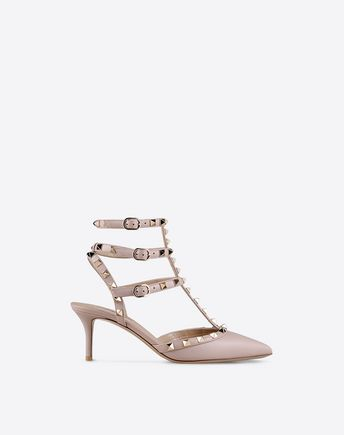 VALENTINO Rockstud ankle strap 44842217HH