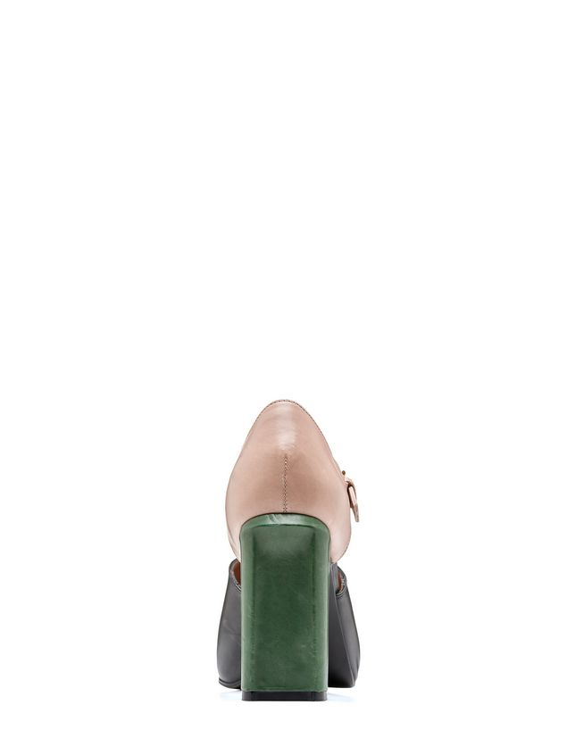 Marni Mary-Jane in tri-colored baby calfskin Woman