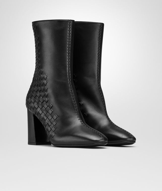 BOTTEGA VENETA NERO CALF ANKLE BOOT Boots Woman fp