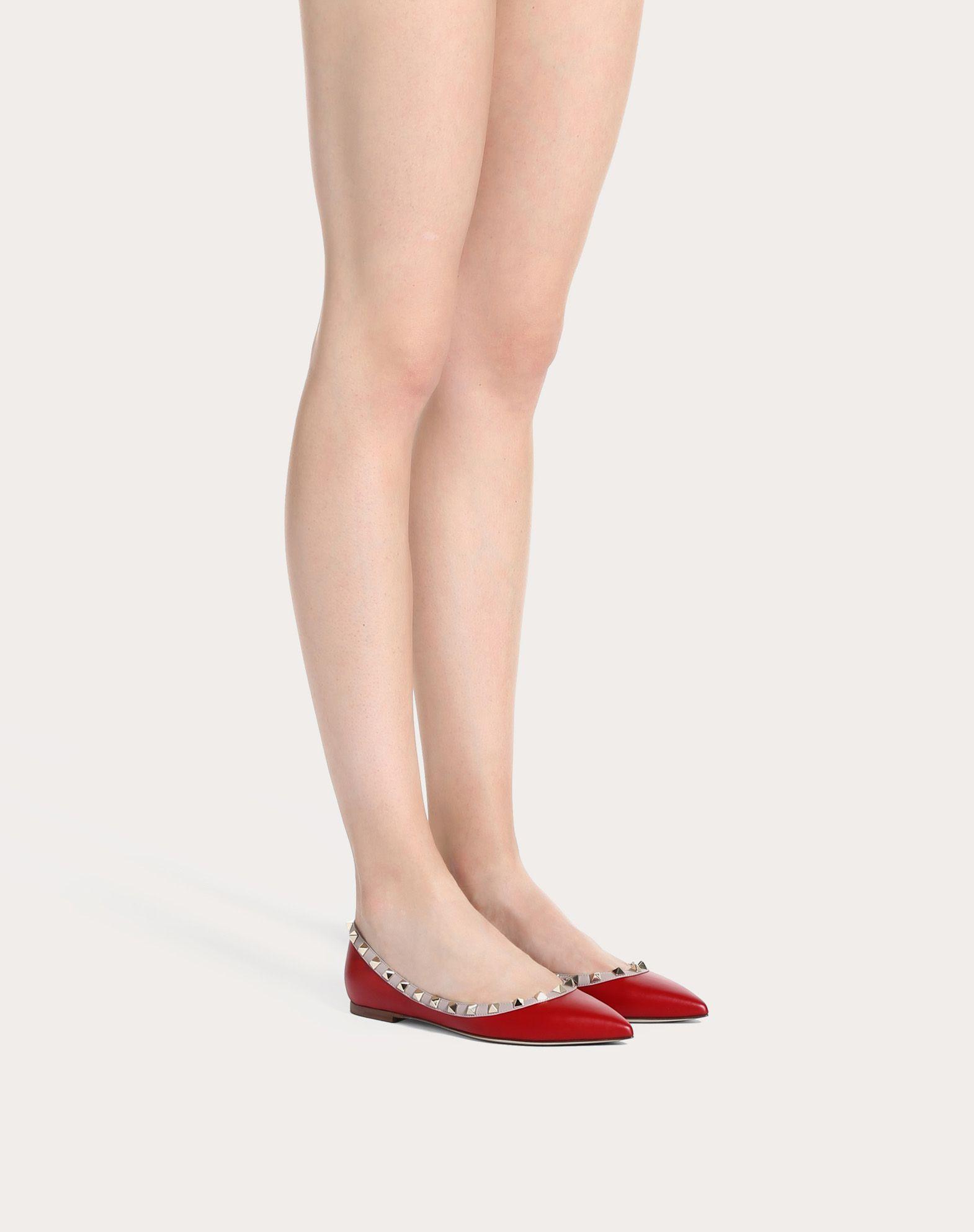 VALENTINO GARAVANI Rockstud ballerina Ballerina D a