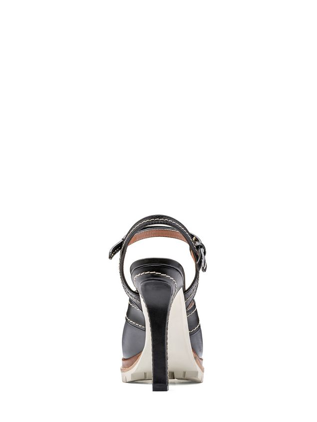 Marni Sling-back in calfskin with track sole Woman