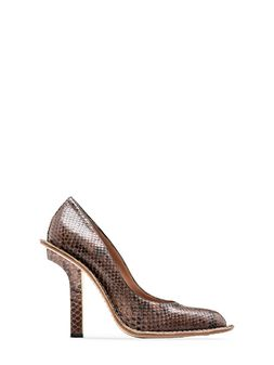 Marni Runway pump in seventies-style python Woman
