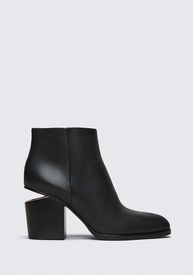 ALEXANDER WANG classics GABI BOOTIE WITH ROSE GOLD