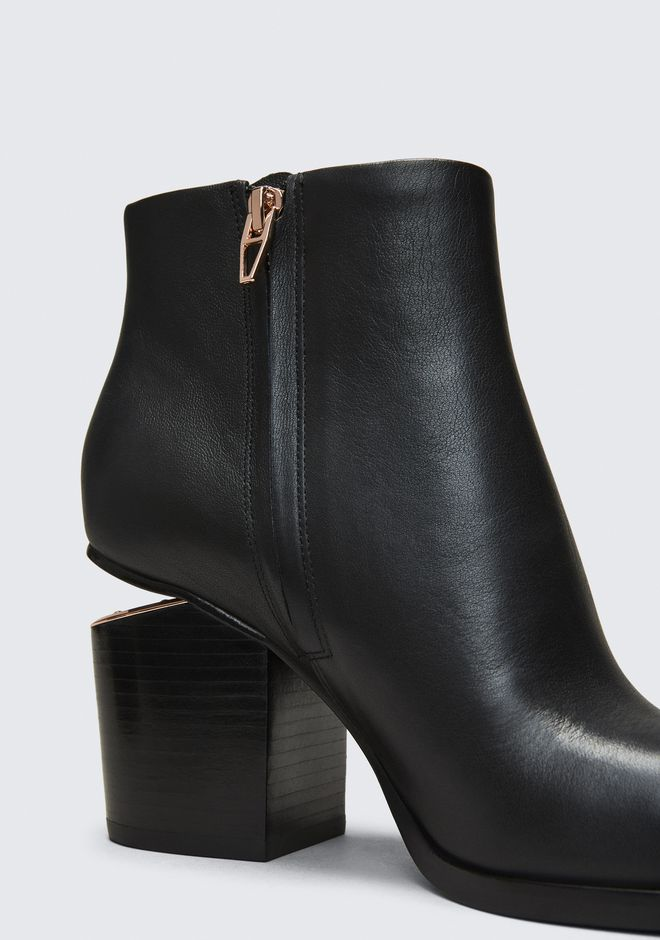 ALEXANDER WANG GABI BOOTIE WITH ROSE GOLD BOOTS Adult 12_n_a