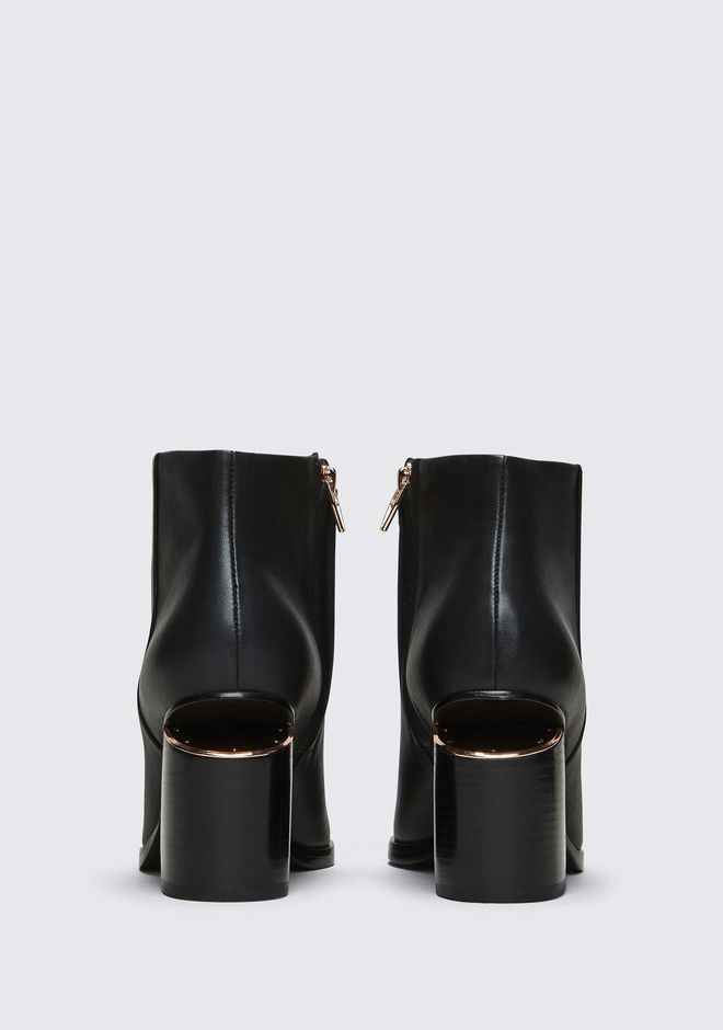 ALEXANDER WANG GABI BOOTIE WITH ROSE GOLD BOOTS Adult 12_n_d