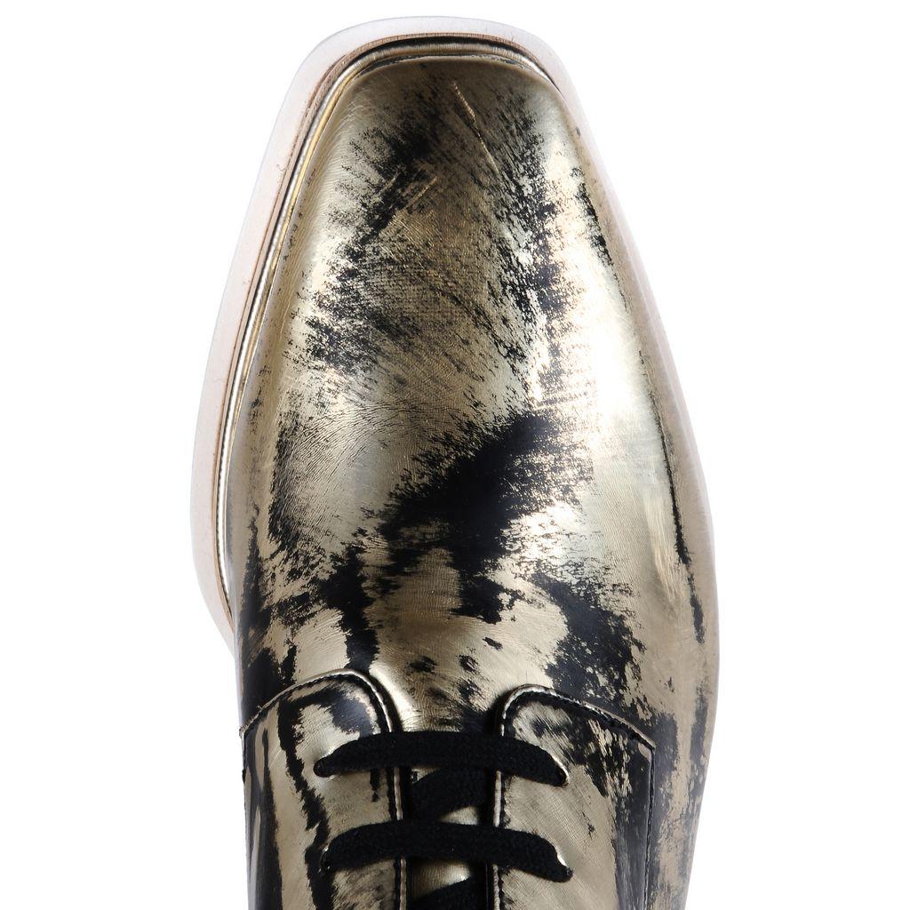 Brushed Gold Elyse Shoes - STELLA MCCARTNEY