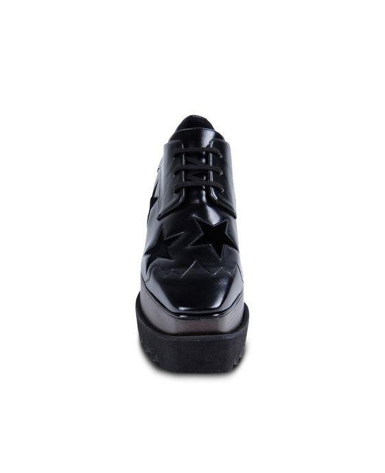 STELLA McCARTNEY Black Elyse Star Shoes Wedges D g