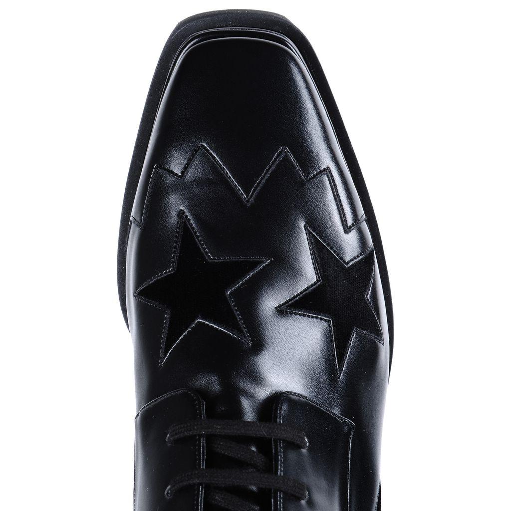 Chaussures Elyse noires avec étoiles - STELLA MCCARTNEY