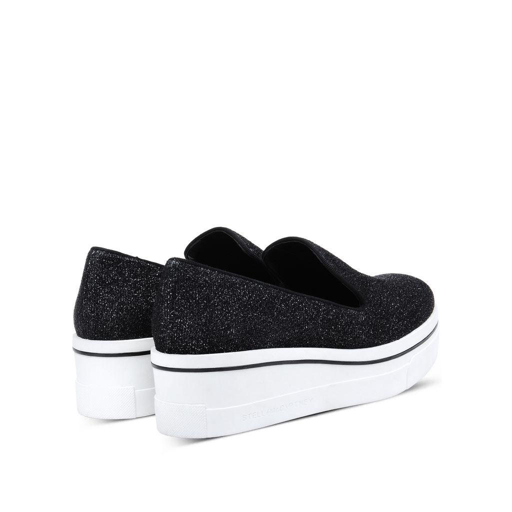 Black Binx Loafers - STELLA MCCARTNEY