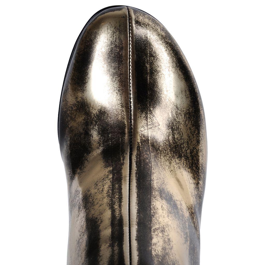 Winter Show gold boots - STELLA MCCARTNEY