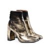 STELLA McCARTNEY Winter Show gold boots Ankle Boots D r