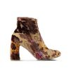 STELLA McCARTNEY Mustard Brocade boots  Ankle Boots D f