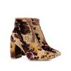 STELLA McCARTNEY Mustard Brocade boots  Ankle Boots D r