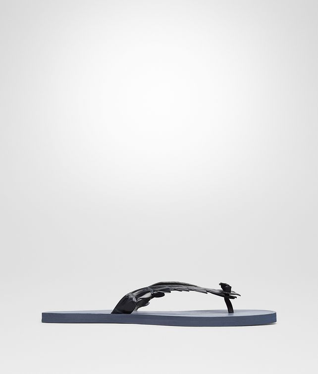 BOTTEGA VENETA SANDALS IN DARK NAVY CROCODILE Sneaker or Sandal U fp