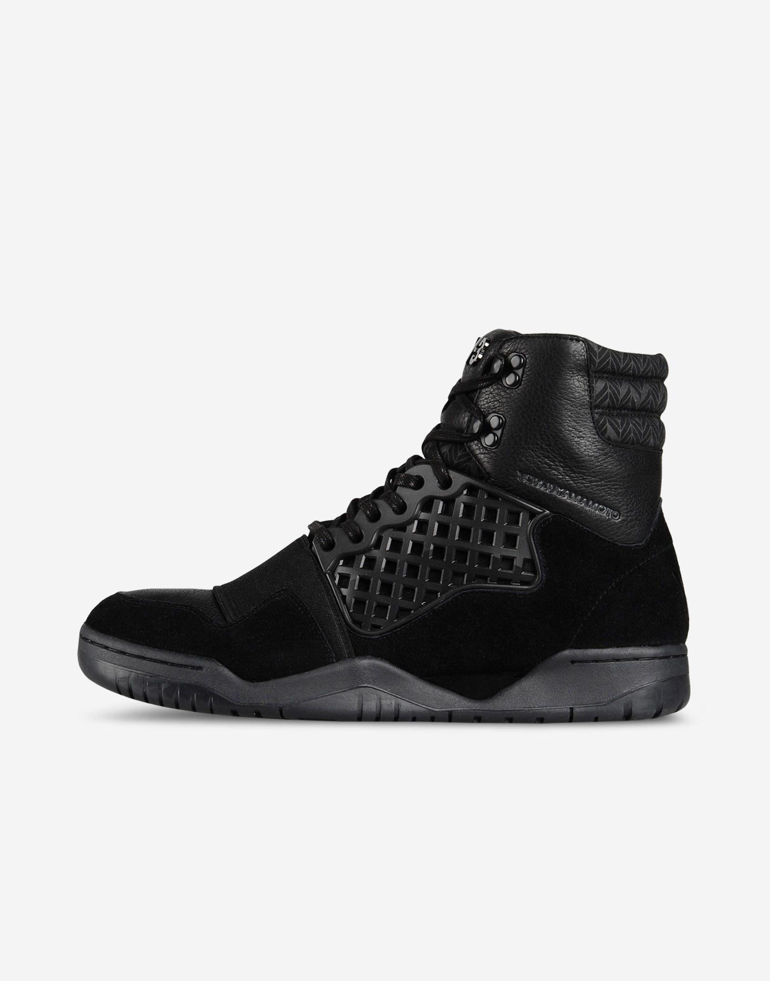 watch fe2a7 cfa9c ... Y-3 Y-3 HELD ENFORCER High-top sneakers Man ...