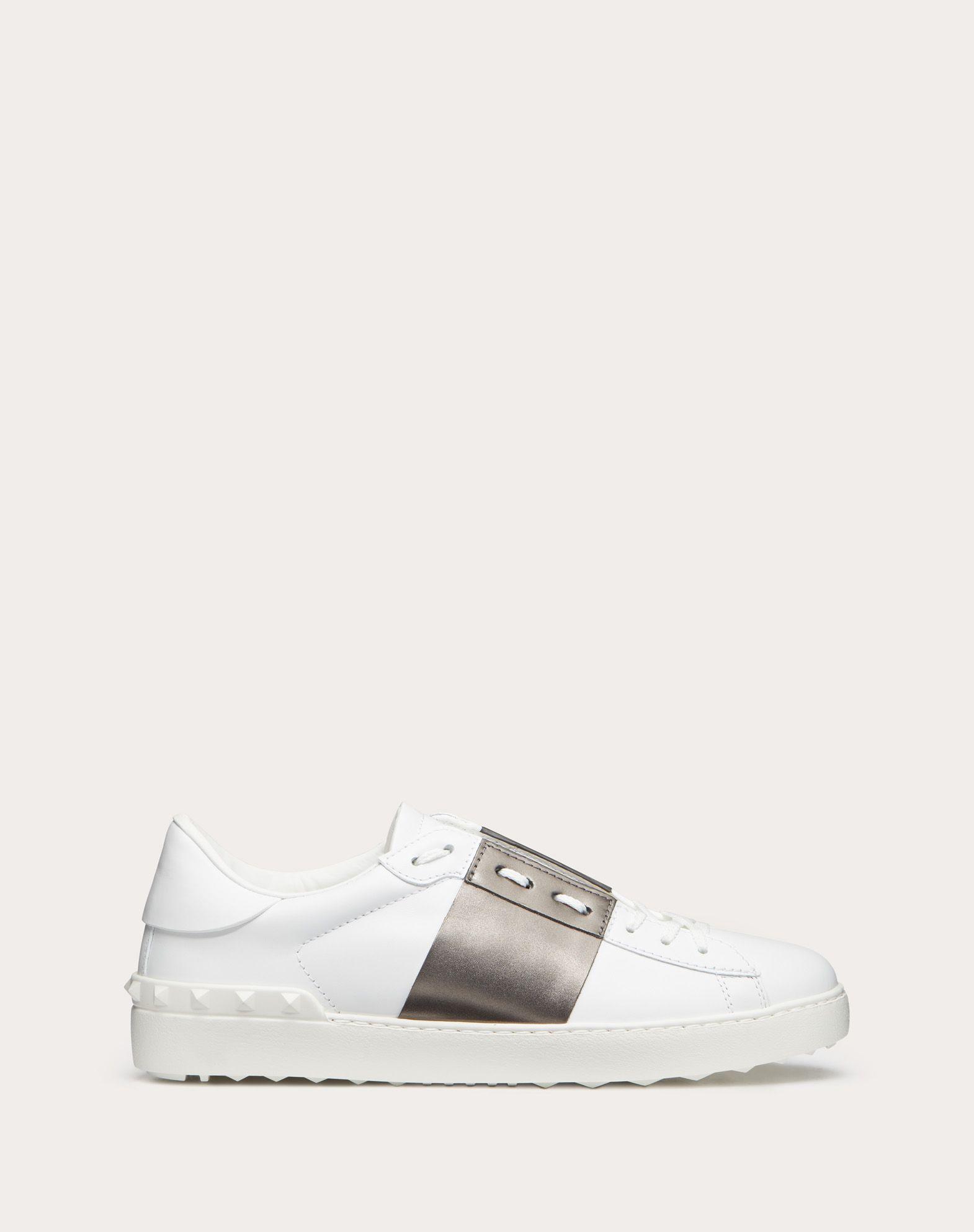 VALENTINO Open low-top sneaker 44885791lx