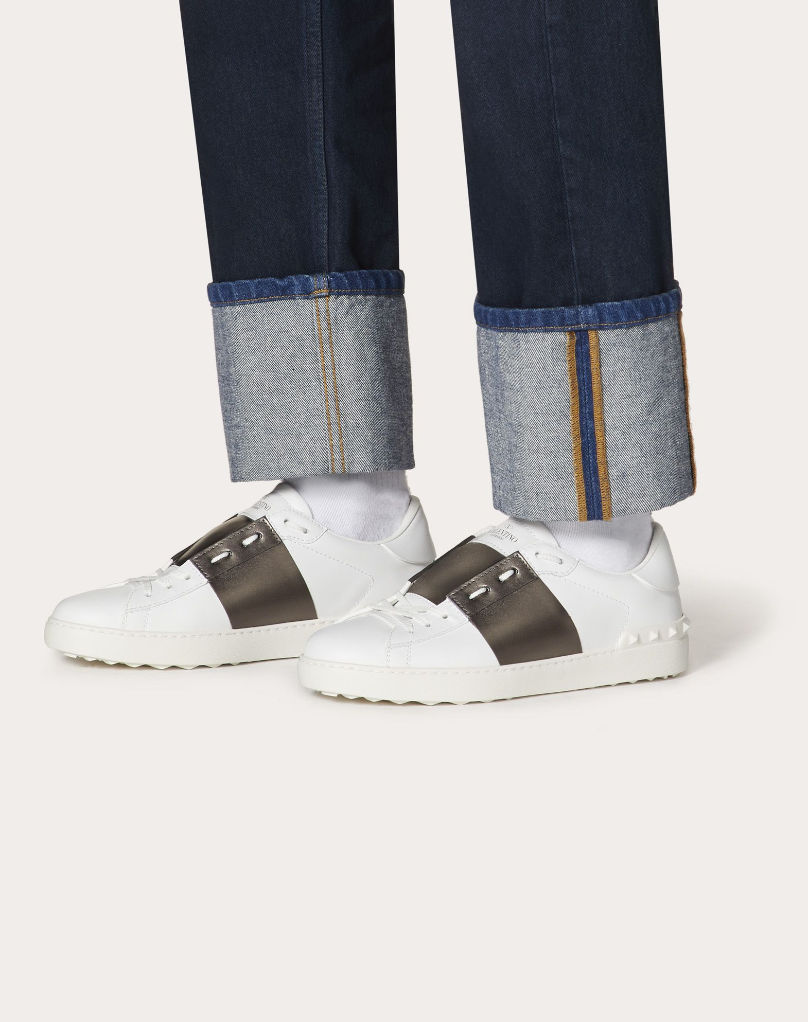 VALENTINO GARAVANI UOMO Open low-top sneaker LOW-TOP SNEAKERS U b