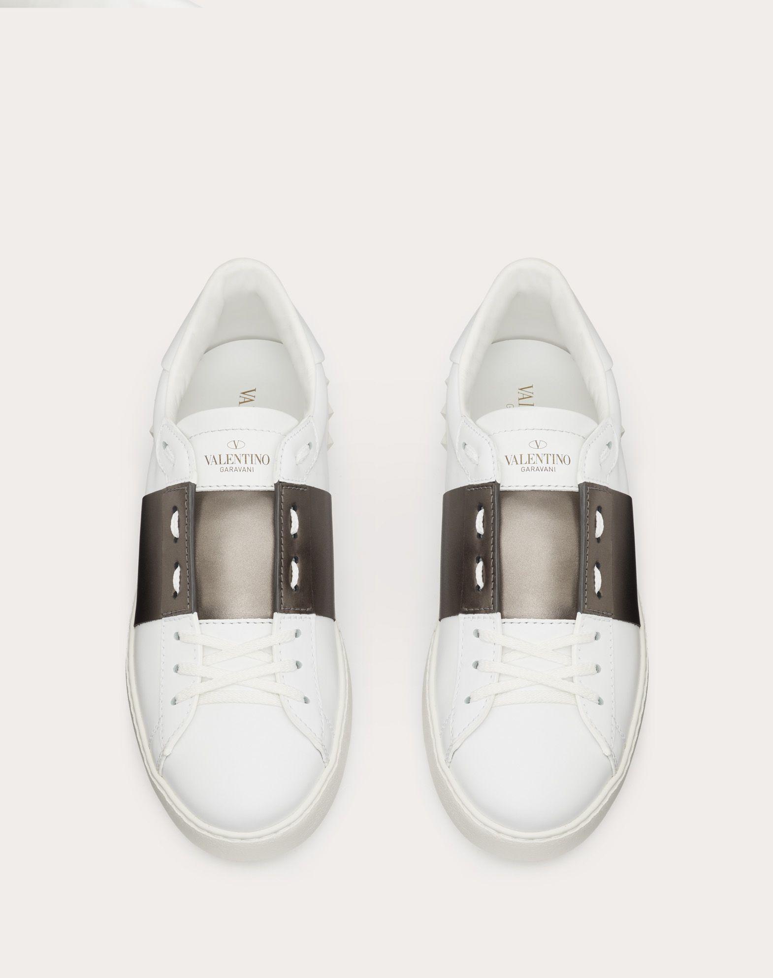 VALENTINO GARAVANI UOMO Open low-top sneaker LOW-TOP SNEAKERS U e