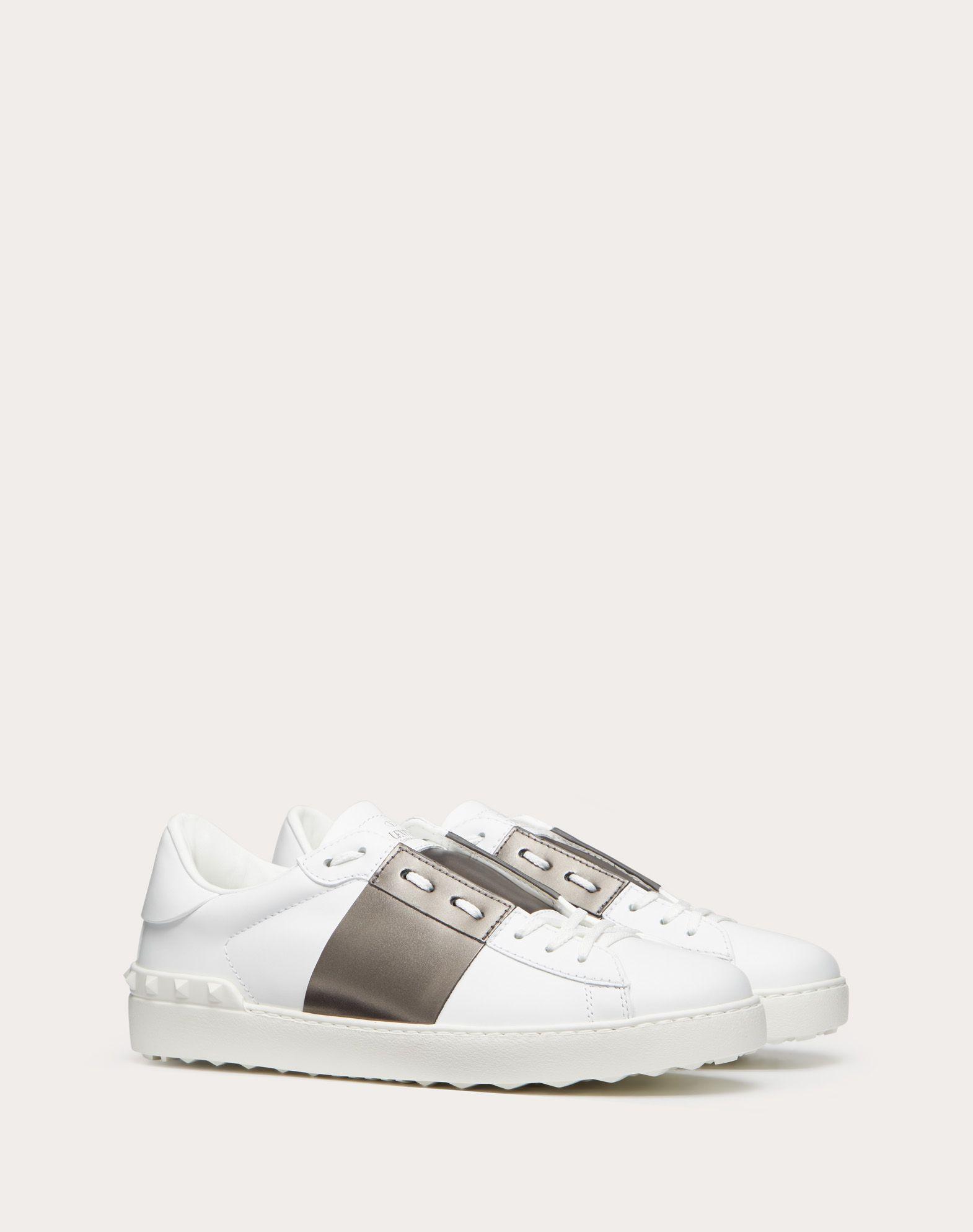 VALENTINO GARAVANI UOMO Open low-top sneaker LOW-TOP SNEAKERS U r